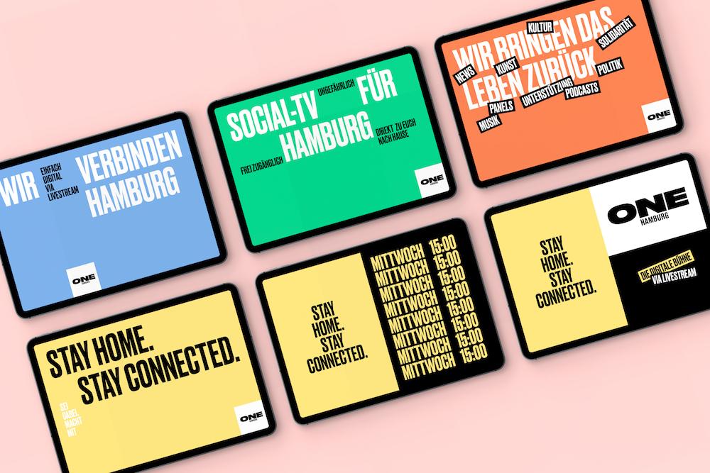 Kultur trotz Corona: Brandneue digitale Bühne ONE, designt von Arndt Benedikt