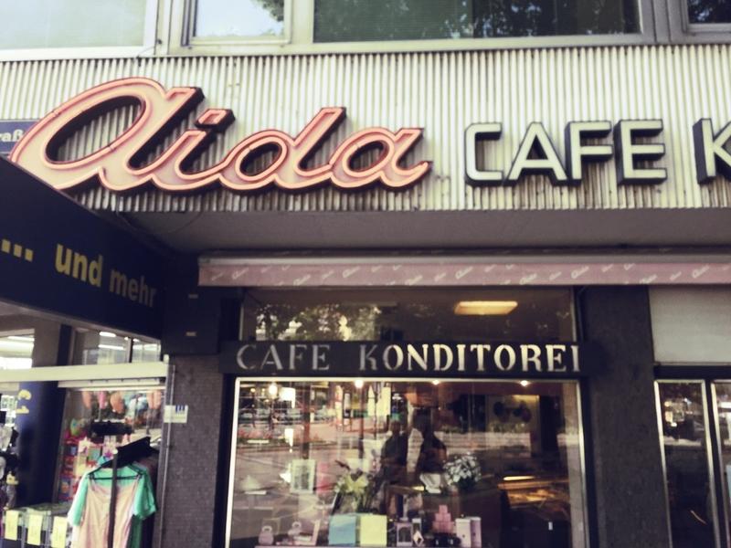 Restaurantbeschriftungen Kaffeehaus