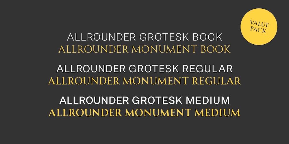 SchriftAllrounderMonument_Pack