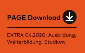 PAGE Extra Ausbildung, Weiterbildung, Studium 2020 kostenlos downloaden