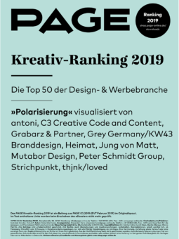 Produkt: Download PAGE Kreativ-Ranking 2019