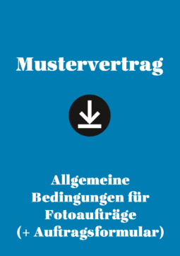 Produkt: Mustervertrag: Allgemeine Bedingungen für Fotoaufträge (+ Auftragsformular)