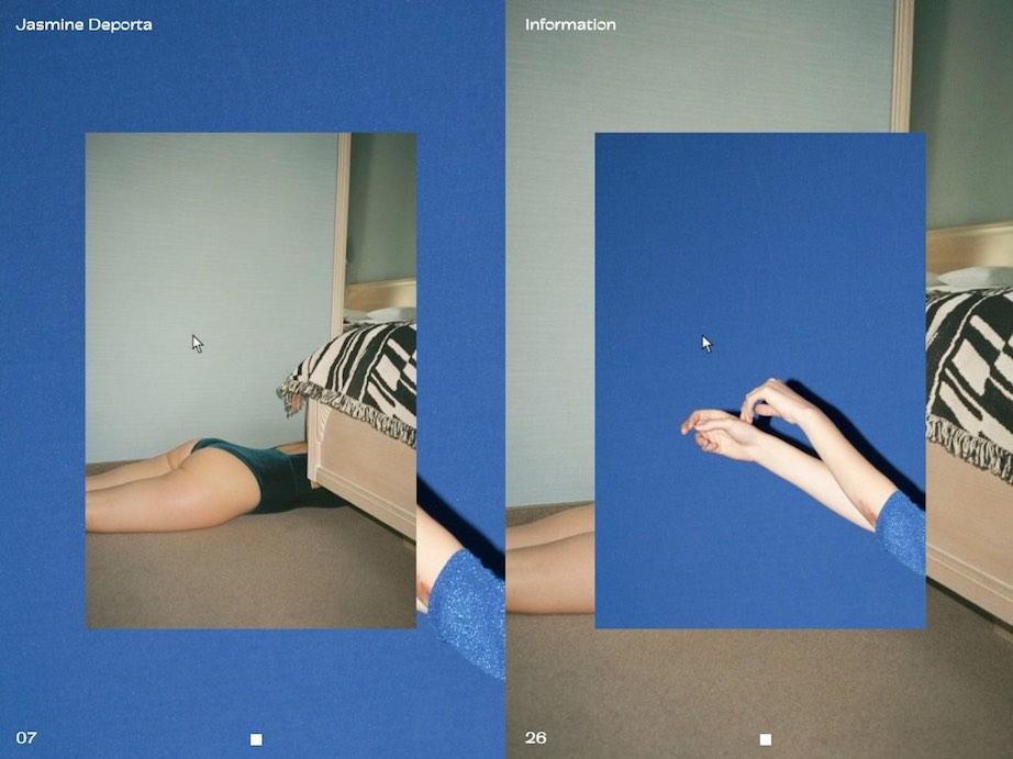 Fotografin Website Jasmine Deporta