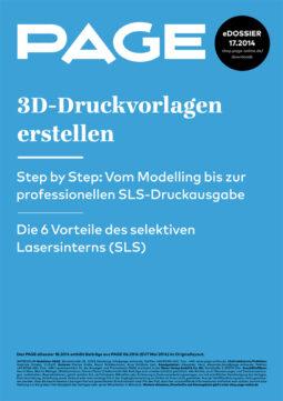 Produkt: eDossier »3D-Druckvorlagen erstellen«