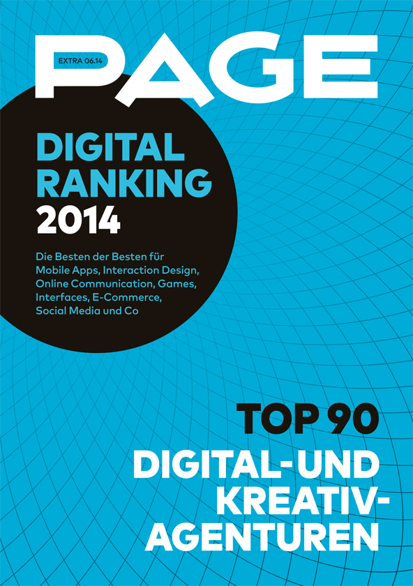 Produkt: PAGE Extra »Digital Ranking 2014«