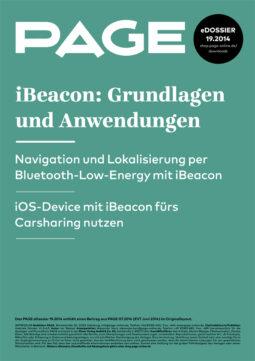 Produkt: eDossier »iBeacon – Grundlagen und Anwendungen«