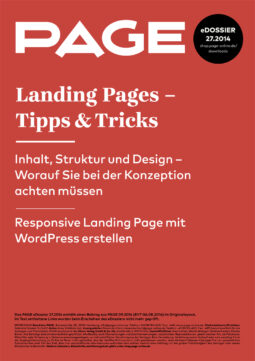 Produkt: eDossier »Landing Pages – Tipps &Tricks«