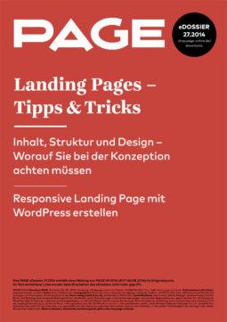 Produkt: eDossier »Landing Pages – Tipps &Tricks«