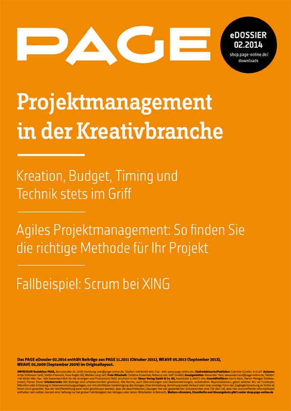 Produkt: eDossier »Projektmanagement in der Kreativbranche«