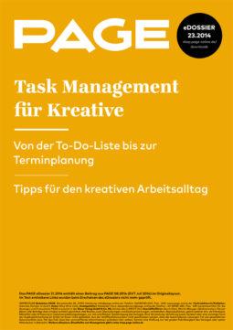 Produkt: eDossier »Task Management für Kreative«