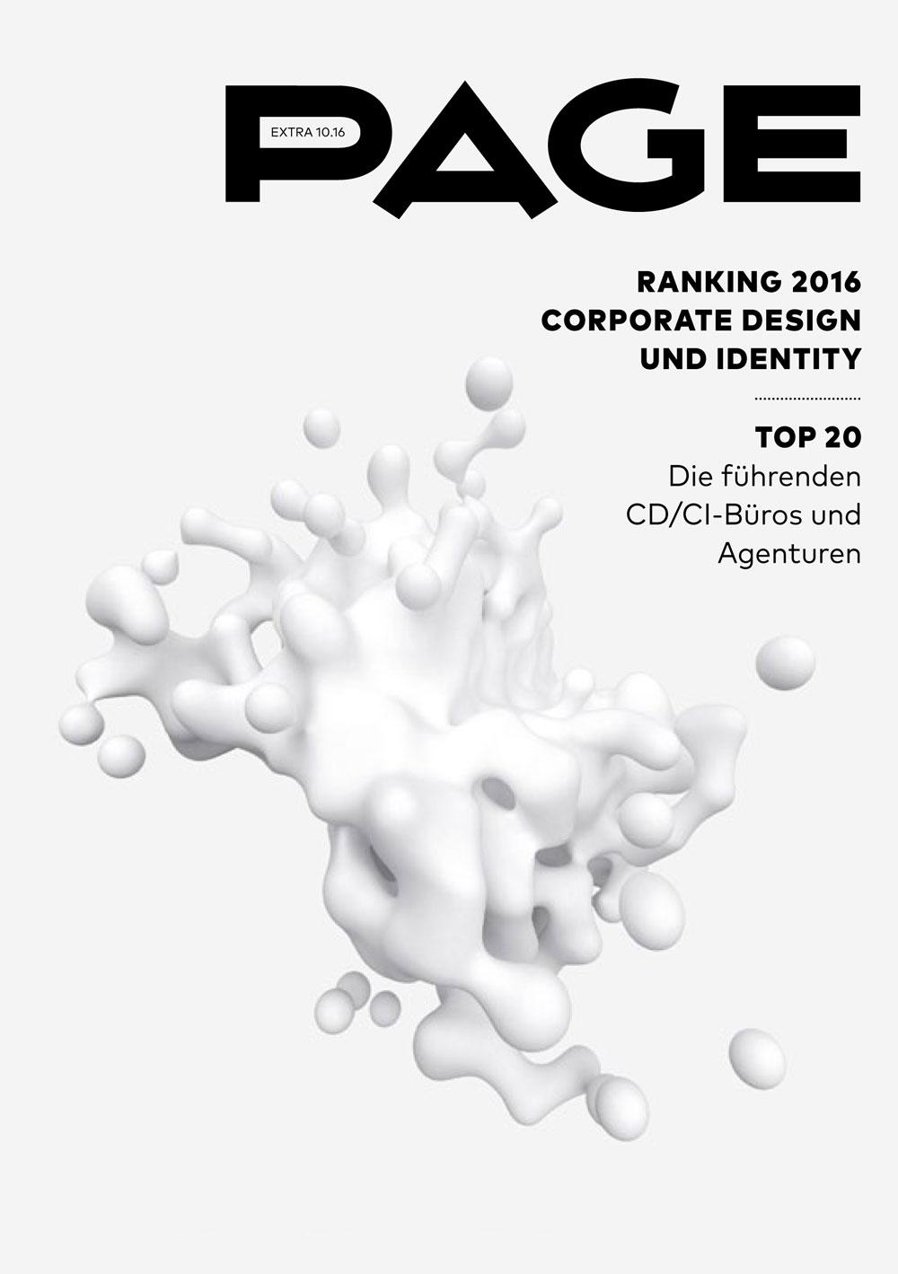 Produkt: eDossier: »PAGE CD/CI-Ranking 2016«