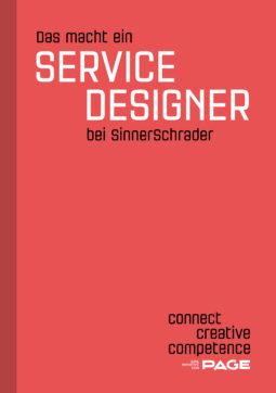 Produkt: Sonderheft Das macht ein Service Designer bei Sinnerschrader