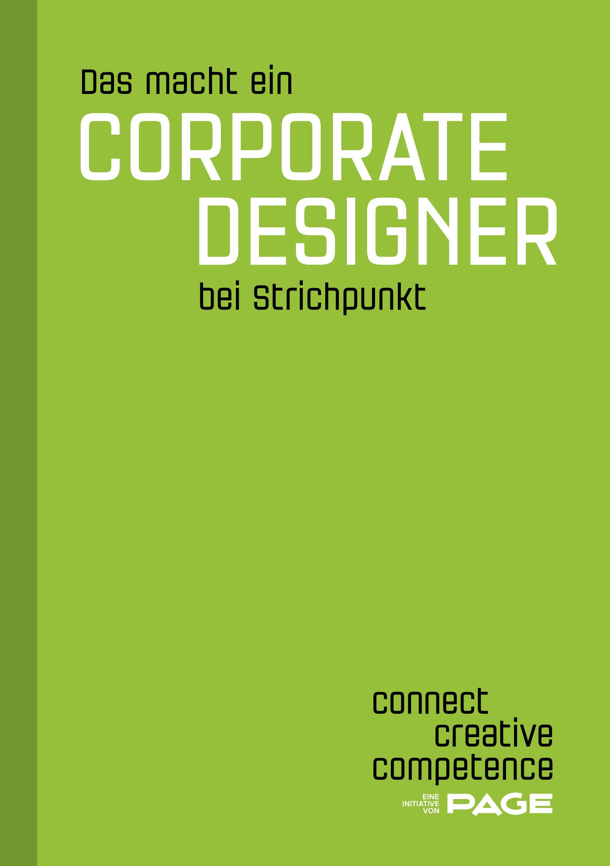 Produkt: eDossier »Das macht ein Corporate Designer bei Strichpunkt«