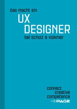 Produkt: eDossier »Das macht ein UX Designer bei Scholz & Volkmer«