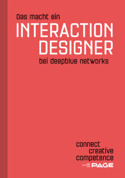 Produkt: Was macht ein Interaction Designer bei deepblue networks