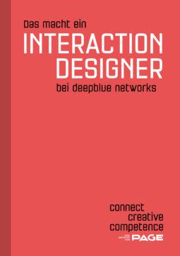 Produkt: eDossier »Das macht ein Interaction Designer bei deepblue networks«