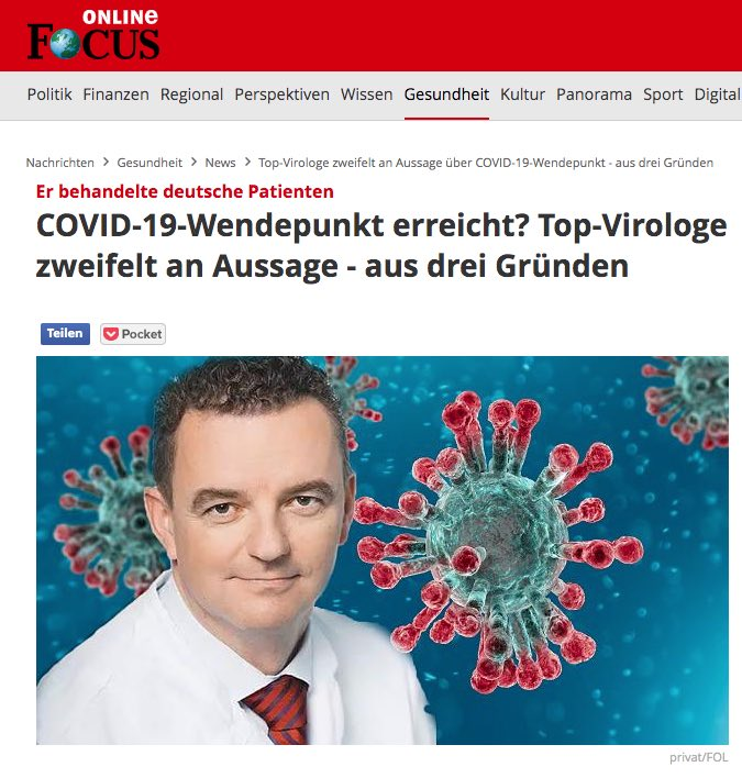 Coronavirus Wie Gefährlich Wirklich