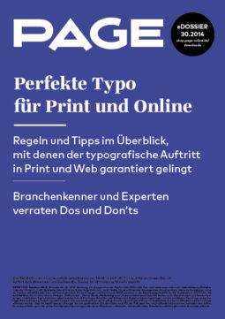 Produkt: eDossier »Perfekte Typo für Print und Online«