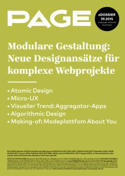 Produkt: eDossier: »Modulare Gestaltung«
