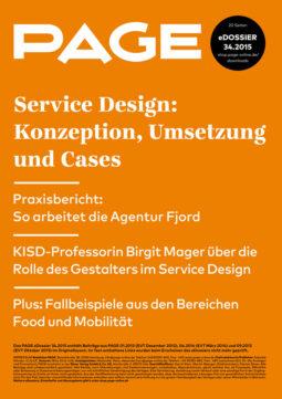 Produkt: eDossier »Service Design«
