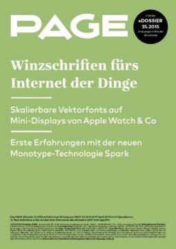 Produkt: eDossier: »Winzschriften fürs Internet der Dinge«