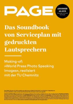 Produkt: eDossier: »Das Soundbook von Serviceplan mit gedruckten Lautsprechern«