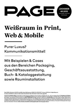 Produkt: eDossier: »Weißraum in Print, Web & Mobile«