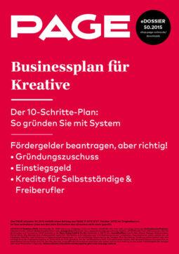 Produkt: eDossier: »Businessplan für Kreative«