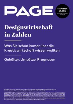 Produkt: eDossier: »Designwirtschaft in Zahlen«