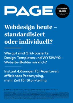 Produkt: eDossier: »Webdesign heute – standardisiert oder individuell?«