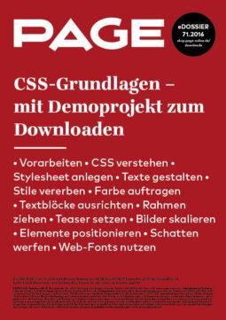 Produkt: eDossier: »CSS-Grundlagen«