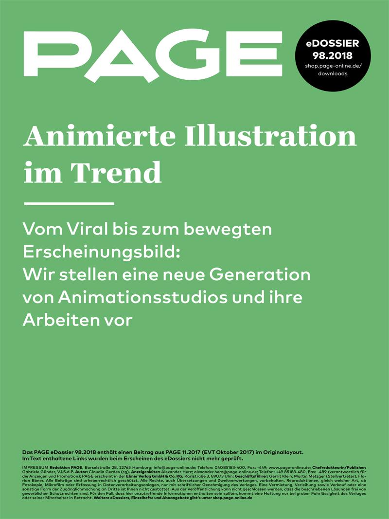 Produkt: eDossier: »Animierte Illustrationen im Trend«