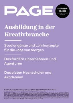 Produkt: eDossier: »Ausbildung in der Kreativbranche«