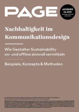 Produkt: eDossier »Nachhaltigkeit im Kommunikationsdesign«