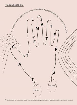 Integrative Gestaltung: Masterarbeit »Tactile Matters« von Jennifer Keusgen