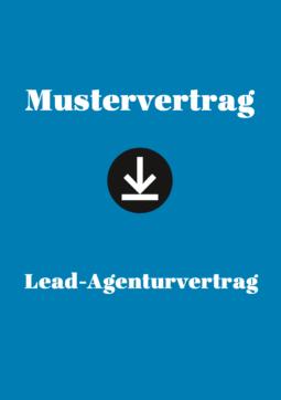 Produkt: Mustervertrag: Lead-Agenturvertrag