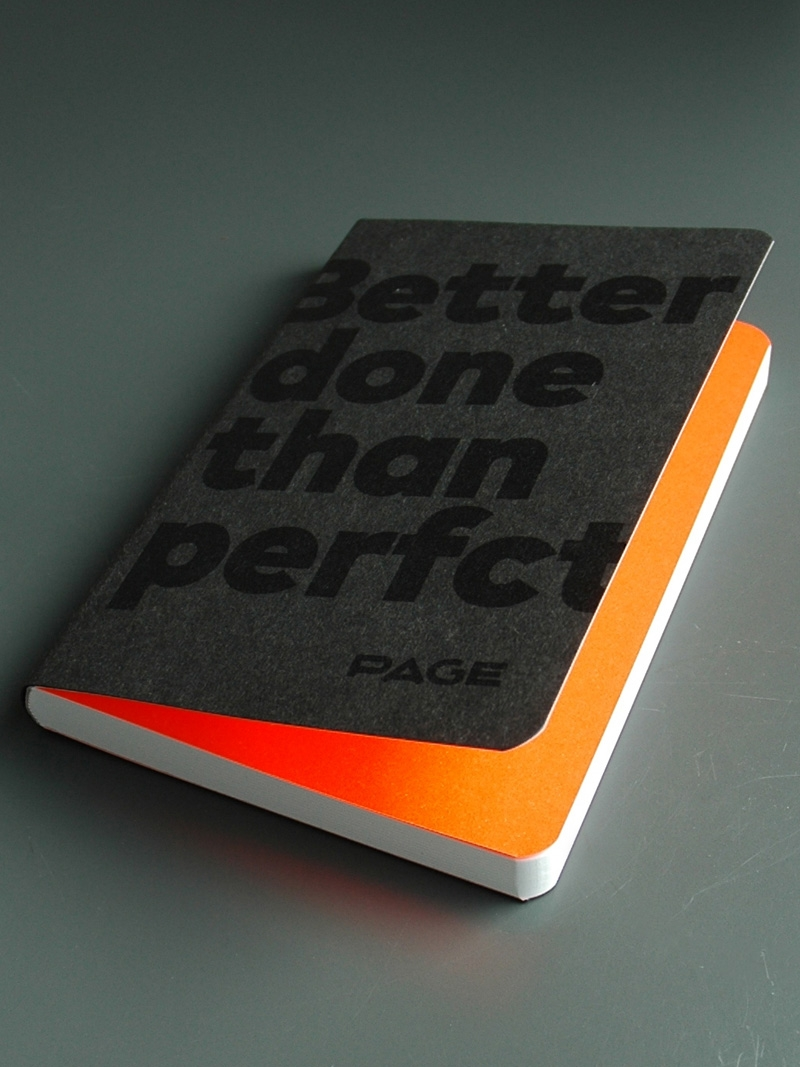 Produkt: PAGE Book »Better done than perfct«
