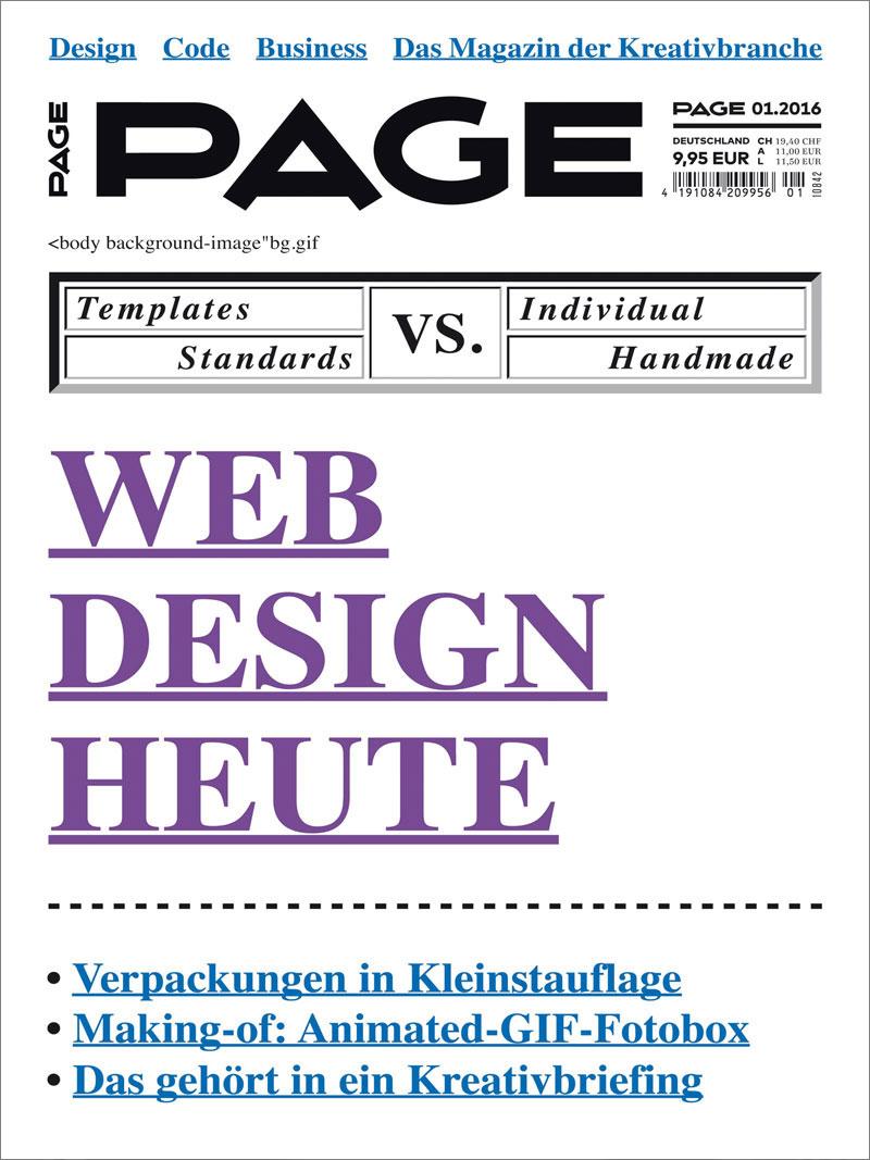 Produkt: PAGE Digital 01.2016
