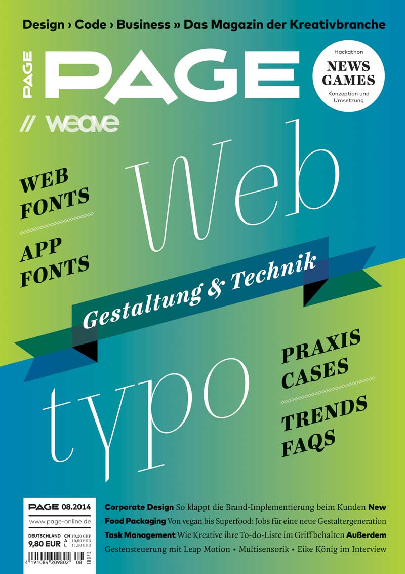 Produkt: PAGE Digital 08.2014