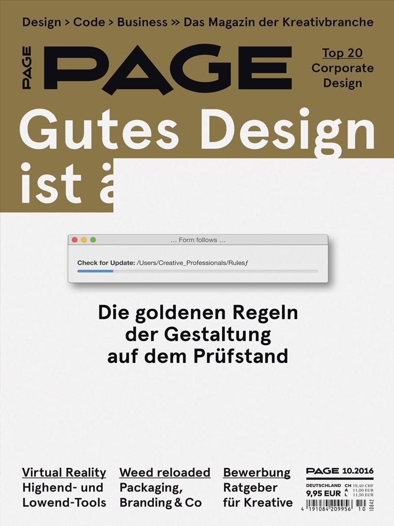 Produkt: PAGE Digital 10.2016