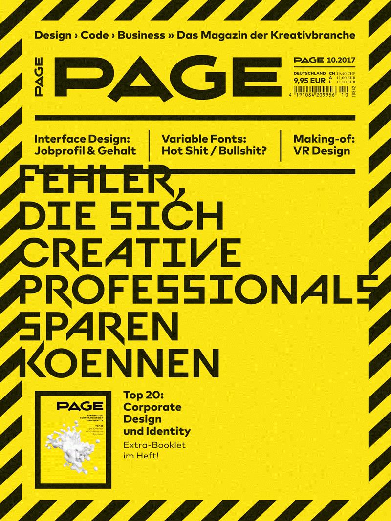 Produkt: PAGE Digital 10.2017