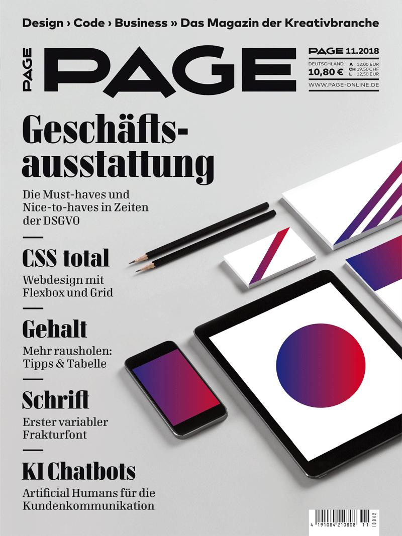 Produkt: PAGE Digital 11.2018