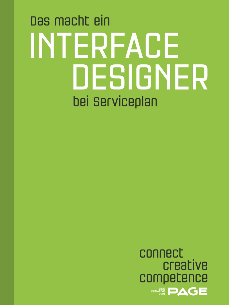 Produkt: Das macht ein Interface Designer bei Serviceplan
