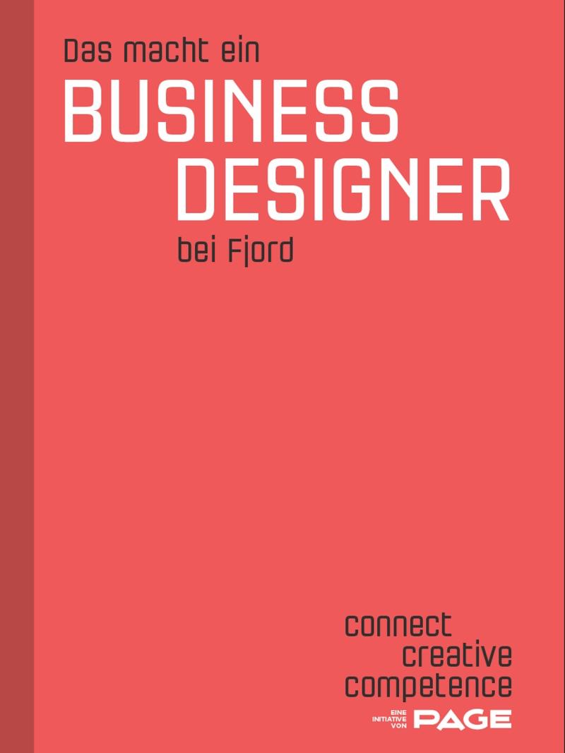Produkt: Das macht ein Business Designer bei Fjord