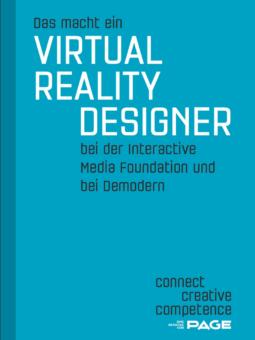 Produkt: Das macht ein Virtual Reality Designer bei der Interactive Media Foundation und bei Demodern