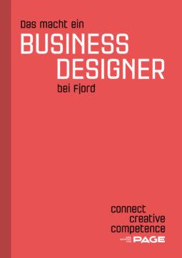 Produkt: eDossier »Das macht ein Business Designer bei Fjord«