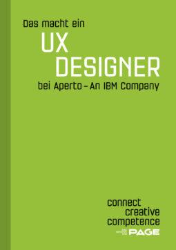 Produkt: eDossier »Das macht ein UX Designer bei Aperto – An IBM Company«