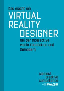 Produkt: eDossier »Das macht ein Virtual Reality Designer bei der Interactive Media Foundation und bei Demodern«