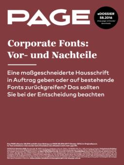 Produkt: eDossier: »Corporate Fonts: Vor- und Nachteile«