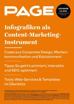 Produkt: eDossier: »Infografiken als Content-Marketing-Instrument«